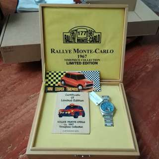 Mini Cooper Watch Collection Limited Edition