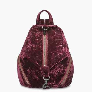 Pre-order: REBECCA MINKOFF VELVET MEDIUM BACKPACK