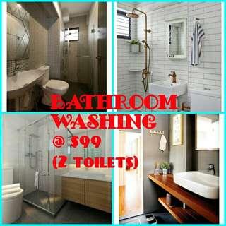 Bathroom Chemical Washing