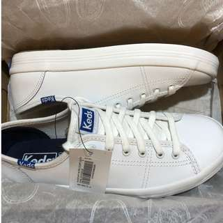 Keds Kickstart Retro Court White (Brand New)