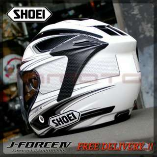 SHOEI J-FORCE BLACK PSB APPROVED