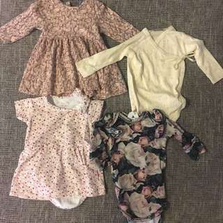 Clothes for baby girl - like new