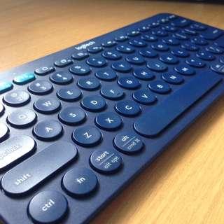 K380 MULTI-DEVICE BLUETOOTH KEYBOARD (BLUE)