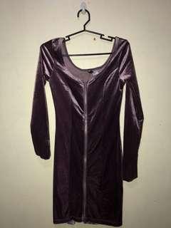 Preloved H&M Velvet Dress
