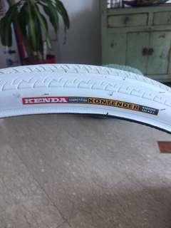 Kenda bike tyres - new
