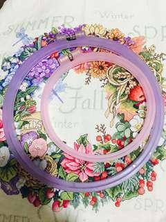 🚚 Plastic hoop