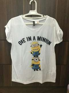 H&M One in a Minion Shirt