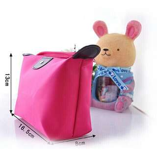Travel make up waterproof pouch purse organizer cosmetic bag
