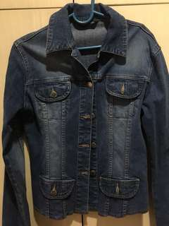 Denim jacket/ maong