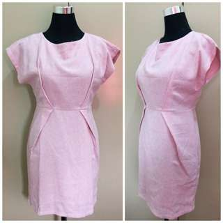 Pink Corporate Dress