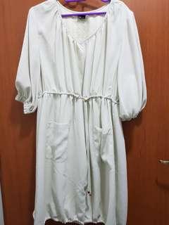 Satin Material Dress