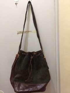 Loewe bucket bag+gucci shoulder bag