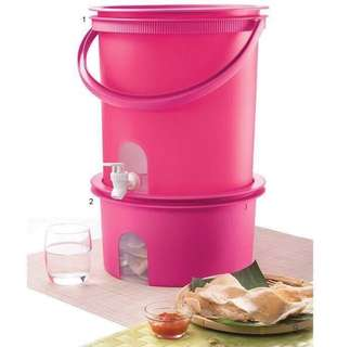 🎉Raya Sale🎊Tupperware water dispenser and canister