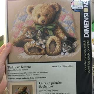 🚚 Dimensions cross stitch kit 35236