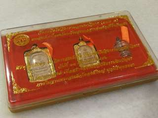 Wat Rakang Ahjan Toh Anniversary LIMITED Collectible 3 In 1 set