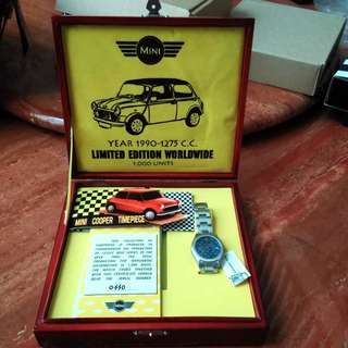 Mini Cooper Watch Year 1990 Limited Edition