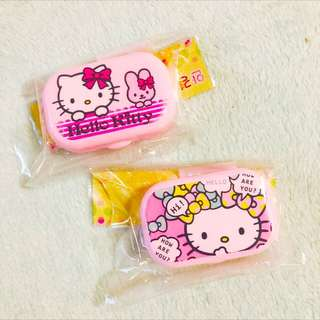 Clearance Stock !! Hello Kitty Contact Lens Casing