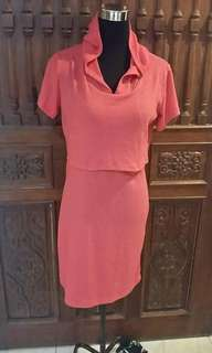 JUN 18 HOODIE NURSING DRESS (TTMB)
