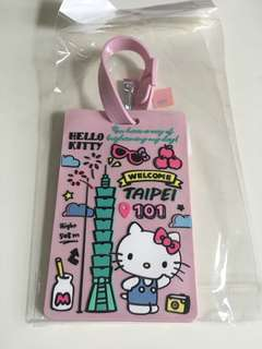 Hello Kitty x Taipei 101 行李吊牌