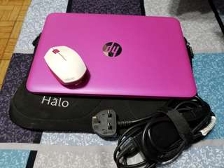 HP laptop (pink) last day today