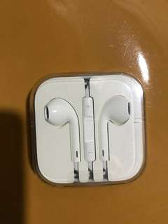 Authentic Apple Earpiece White Wire Cable