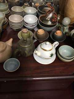 手做 茶壺 茶杯