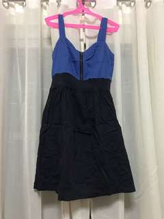 Blue Casual Dress