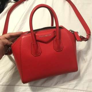 Mini Givenchy Antigona Red