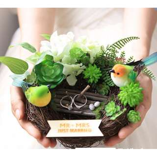 [PO] Customized Ring Holder - Solemnization/ Wedding Ring