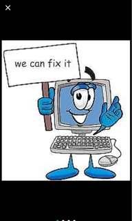 Laptop repair, service