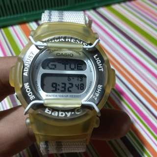 Casio baby G vintage Velcro made in japan