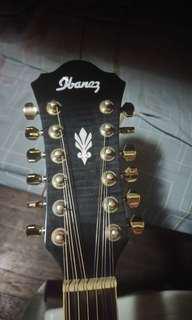 Ibanez AEL2012 12 String acoustic guitar