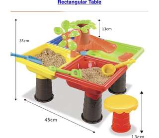 Sand water play table