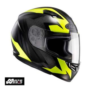 USED-HJC CS-15 (LARGE) TREAGUE FULL FACE MOTORCYCLE HELMET PSB Approved
