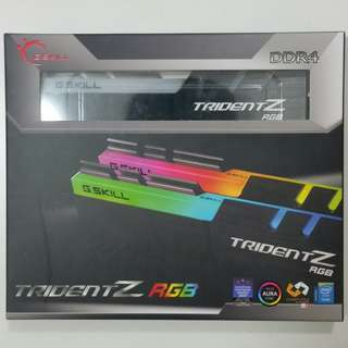 (PM!Cost Price Clear!)G.Skill TridentZ RGB 3000mhz 16GB (2x8GB)