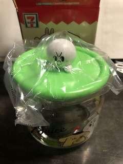 7-11 Line Friends - Moon Glass Jar