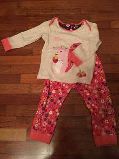 Mothercare pyjamas set 12-18months