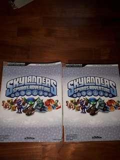 🚚 Skylanders Spyro's Adventure guidebooks