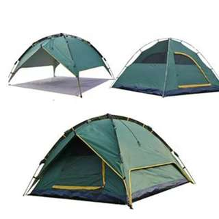 #5 Waterproof Camping Tent (Green)