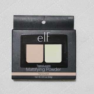 全新 e.l.f. 蜜粉餅 Translucent Mattifying Powder