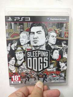 PS3 Game SLEEPING DOGS