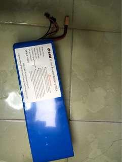 LG Li-ion battery for Dyu/36v10.4ah/Escooter/Escoot