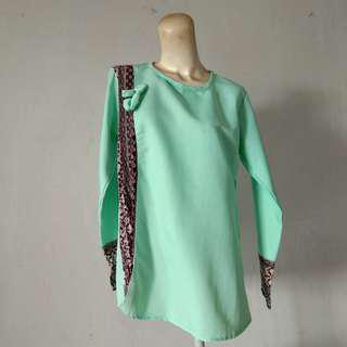 Blouse Tosca Mix Batik