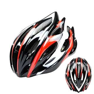 🆕! Lightweight MTB Cycling Protective Red Helmet  #OK
