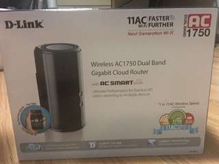 Brand new D-LINK AC1750 dual band router