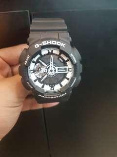 G-Shock GA-110BW-1ADR Bisa Credit Promo Dp 0% Bunga 0%