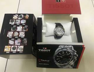 Authentic Tissot T Touch Ii