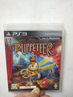 PS3 Game PUPPETEER 合適大人與小朋友玩