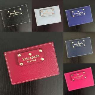(2 for $26) Kate ♠️ Multiple Card Holder #hariraya35