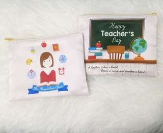 CUSTOM POUCH teachers day gift